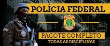 PF | PACOTE COMPLETO AGENTE E ESCRIVÃO - TODAS AS DISCIPLINAS