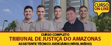 PACOTE COMPLETO TJ/AM - ASSISTENTE TÉCNICO JUDICIÁRIO - TODAS AS DISCIPLINAS