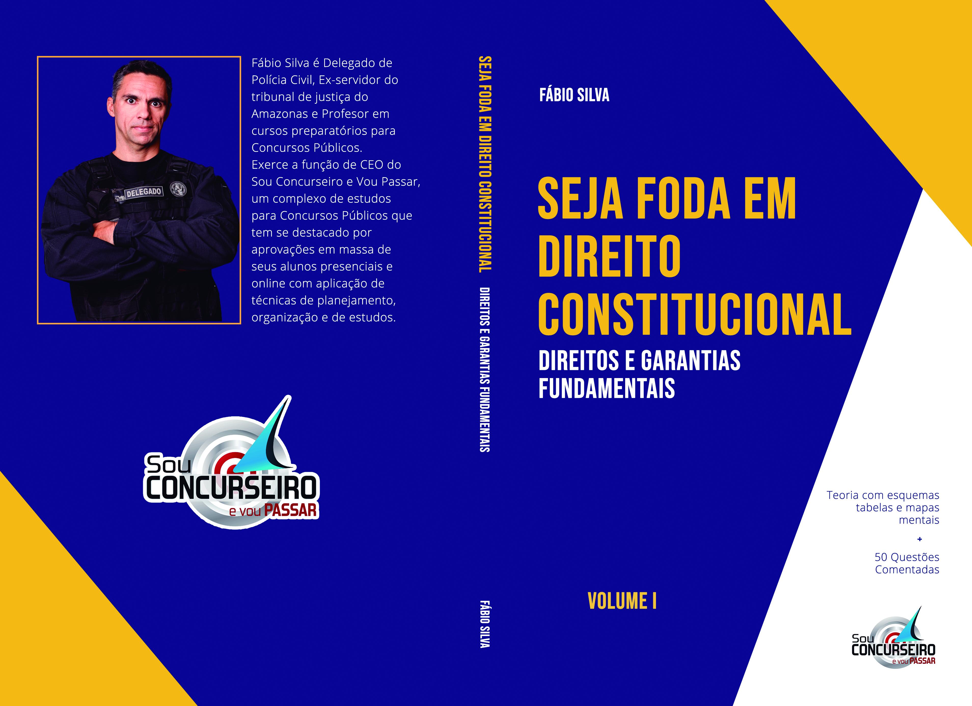 EBOOK   SEJA FODA EM DIREITO CONSTITUCIONAL - VOLUME I