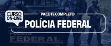 PF   PACOTE COMPLETO AGENTE E ESCRIVÃO - TODAS AS DISCIPLINAS 2018