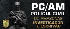PC-AM   INVESTIGADOR E ESCRIVÃO - TODAS AS DISCIPLINAS