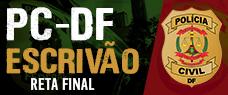 RETA FINAL PC-DF - ESCRIVÃO - PDF + VÍDEOAULAS
