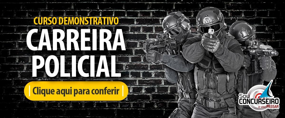 CARREIRAS POLICIAIS | CONHEÇA NOSSOS CURSOS - AULAS DEMONSTRATIVAS