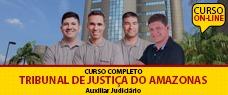 TJ-AM | AUXILIAR JUDICIÁRIO (ENSINO FUNDAMENTAL)