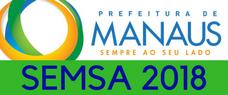 SEMSA-MANAUS   CONHECIMENTOS GERAIS + ESPECÍFICOS DE PSICOLOGIA