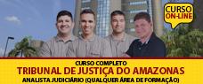 TJ-AM   ANALISTA JUDICIÁRIO QUALQUER ÁREA DE FORMAÇÃO  - TODAS AS DISCIPLINAS
