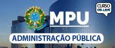 MPU   ADMINISTRAÇÃO 2017 - PROF. VINICIUS NASCIMENTO